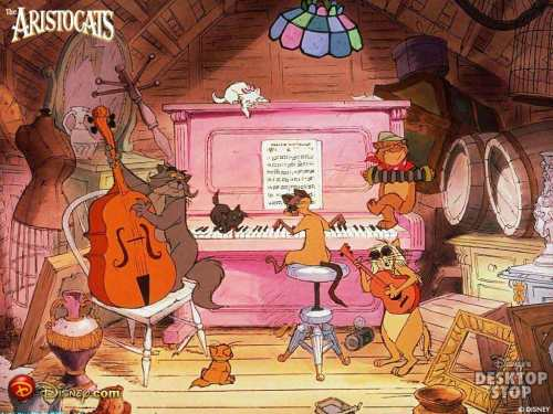 aristocats_wallpaper Credits Walt Disney